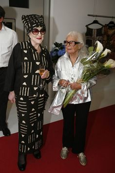 Zelda Kaplan and Lillian Bassman. Two fabulous women who both passed away this week. They will be missed.