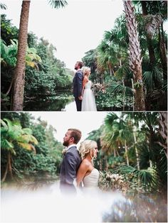 Erica and Roman - Bonnet House Wedding - {Ft. Bonnet House, Vintage Florida, Southern Weddings, Beautiful Couple, South Florida, Blossoms, Bride Groom, Florals, Roman