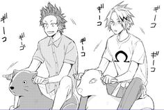 My Hero Academia - Kirishima x Kaminari