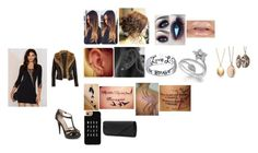 """""""Outfit 1⌨️"""" by vickytavares ❤ liked on Polyvore featuring Bridge Jewelry, Argento Vivo, Disney, Casetify, Olsenboye, River Island and Mascara"""
