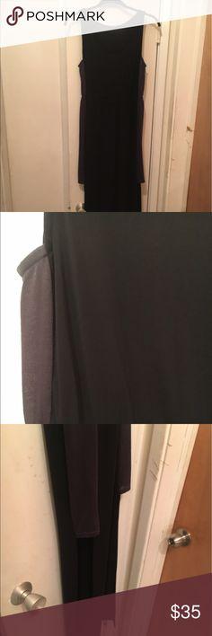High side maxi tank dress Super cute! Zara Dresses High Low