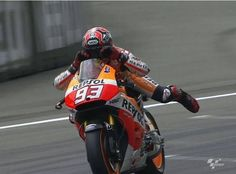Here is our #PinOfTheDay  Did anybody catch Marc Márquez swimming to victory in Assen the weekend?  #Marquez #MotoGP