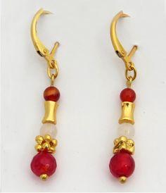 ARZL31 Jewels, Personalized Items, Earrings, Natural Stones, Stud Earrings, Gold, Ear Rings, Jewerly, Ear Piercings