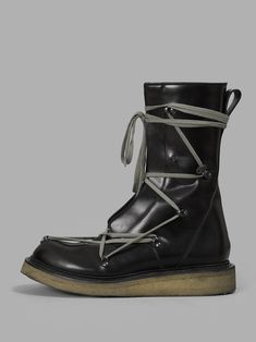 RICK OWENS Rick Owens Men'S Lace Up Creeper Boots. #rickowens #shoes #boots