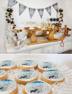 Winter Wonderland and Narnia Inspired Party || by The Little Big Company, via Hostess with the Mostess