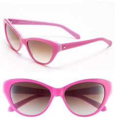 Kate Spade 'della' 55mm Sunglasses -right on trend radiant orchid