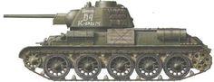 Т- 34- 76 КРЫМ - 1943 год