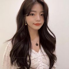 Haircuts For Long Hair With Layers, Long Layered Hair, Long Hair Cuts, Long Hair Styles, Asian Hair Updo, Korean Hairstyle Long, Hair Color And Cut, Cut My Hair, Permed Hairstyles