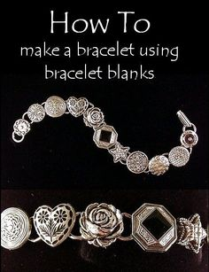 How To Make A Bracelet Using Bracelet Blanks