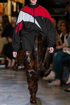Vetements - Reebok Oversized Hooded Shell Jacket - Black - medium