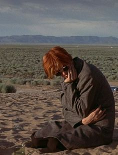 David Bowie deserted - The Man Who Fell to Earth, 1975