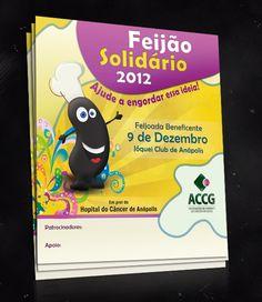 Cliente: Global Comunicação / Proposta: Flyer para evento Feijão Solidário 2012 / Desenvolvimento: Igor Alves