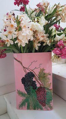 Σκέψεις: ανθοδοχεία και γλάστρες με  χρώματα και εικόνες τη...
