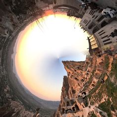 The best of this edit so far  #cappadocia #castle #hill #rollworld #panorama #sunset