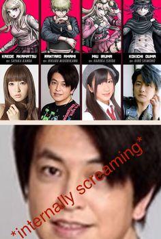 Danganronpa Funny, Super Danganronpa, Danganronpa Characters, Anime Meme, Panthers Memes, Rantaro Amami, Funny Memes, Hilarious, Lol