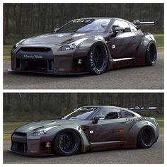 GTR wide body.