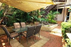 Shade sails are practical, attractive and a relatively inexpensive way of shading outdoor areas.