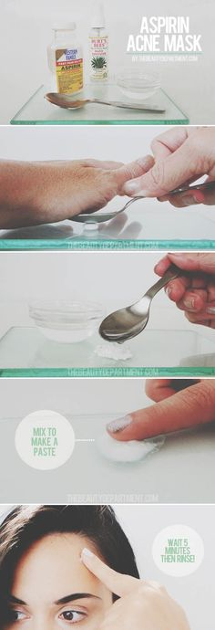 Aspirin Acne Mask  //  Inspire Beauty Tips
