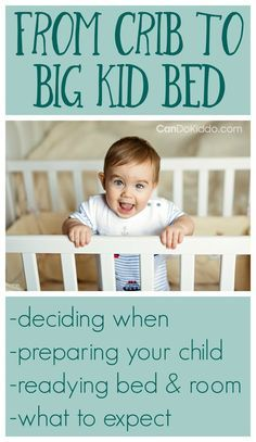 What to expect when moving baby from crib to a toddler bed. Great parenting tips and advice for those who wants to transition but want to get sleep too.