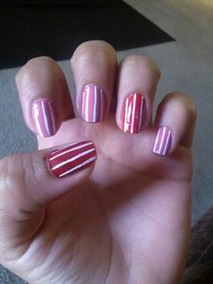 #candynails #stripes