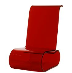 COMFY- Monolithic acrylic reclining chair Acrylic Chair, Floor Chair, Recliner, Chairs, Comfy, Flooring, Home Decor, Chair, Decoration Home