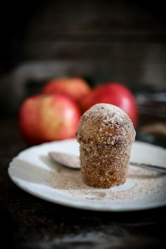 Apple Brown Butter Bouchons l Feasting at Home