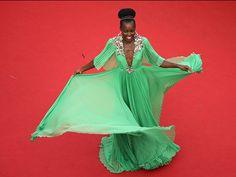 Cannes Lupita Nyong'o (Quelle: EPA/NEILSON BARNARD / POOL)