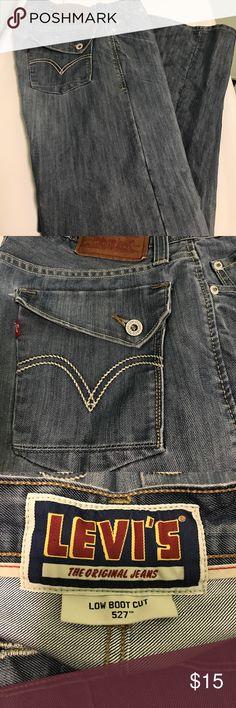 Mens Levi jean!! Mens Levi 527 Low Boot Cut jean!! Levi's Jeans Bootcut