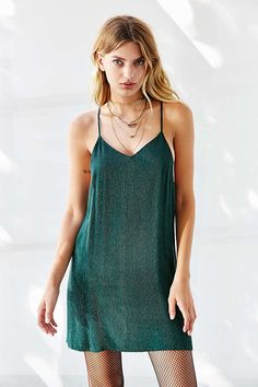 Urban Outfitters MLV Carmen Matte Sequin Dress