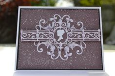 Cameo Elegant Card by MoreFriendsAndCo on Etsy, $5.75