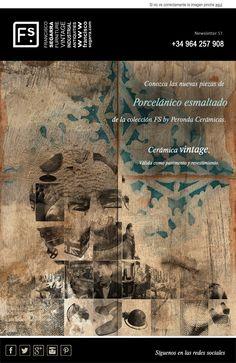 Nuevas piezas de la colección FS by Peronda Cerámicas.