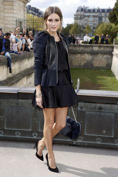 Olivia Palermo Estilo Olivia Palermo, Olivia Palermo Style, Elegante Y Chic, Mein Style, All Black Outfit, Passion For Fashion, Dress To Impress, Autumn Fashion, Paris Fashion