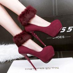 platform heels pumps party shoes