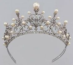 Pearl & Diamond Tiara