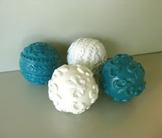 teal decorative balls - Bing Images