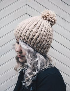 Hygge, New Hobbies, Hats For Women, Handicraft, Diy Clothes, Knitted Hats, Knit Crochet, Winter Hats, Knitting