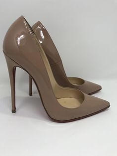 841ed7c4891 Christian Louboutin So Kate Nude Patent  ChristianLouboutin Pumps Heels