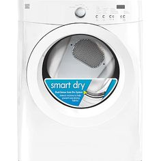 Kenmore 7.0 cu. ft. Electric Dryer w/ Wrinkle Guard - White