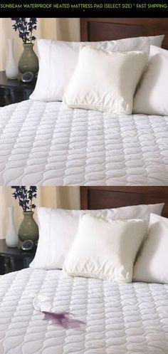 sunbeam waterproof heated mattress pad select size fast shipping pad - Heated Mattress Pad Queen