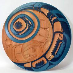 formlines:  Tsunami Phil Gray Native Art, Native American Art, Art Inuit, Haida Art, Native Design, Canadian Art, Coastal Art, Indigenous Art, Aboriginal Art