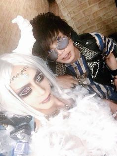 39 (KILLANETH) with Ryo (ex. DILIAL)-39's makeup is rockin'