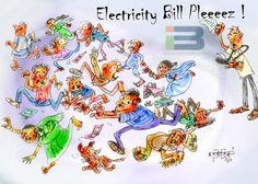 Electricity Bill Cartoon