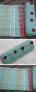 Free Knitting pattern for double pointed needle roll