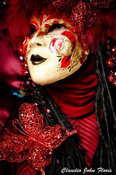 Photo: Gabor Lam  Venice Carnival 2011