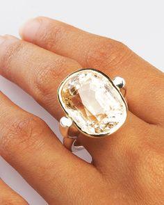 Quartz cocktail ring from ringoblog.com
