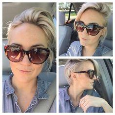 Client selfies are the best!!@reaganr feelin yo self!! #hair #haircut #hairstyle #hairstylist #shorthair #shorthaircut #shorthairstyles #thisismyart #imakehotgirlshotter #thestandardhairstudio