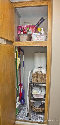 Mop Closet : ... cleaning closets broom cabinet closet ideas ideas broom broom closet