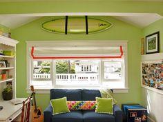 Coastal-Inspired Bedrooms : Decorating Over window trim