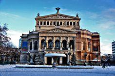Frankfurt Opera House Frankfurt, Germany