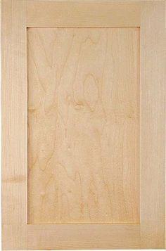 Woodmonrt Doors plywood panel cabinet doors - popular shaker style door for kitchen cabinetry Light Kitchen Cabinets, Maple Cabinets, Custom Kitchen Cabinets, Shaker Cabinets, Kitchen Cabinet Doors, Kitchen Countertops, Cupboard, Cabin Kitchens, Condo Kitchen